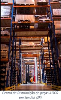 AGCO investiu R$ 50 milhões em novo centro de distribuição de peças em Jundiaí (SP)