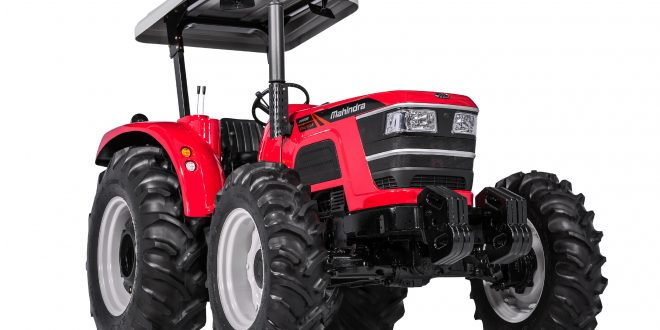 Mahindra apresenta novos tratores na Agroleite