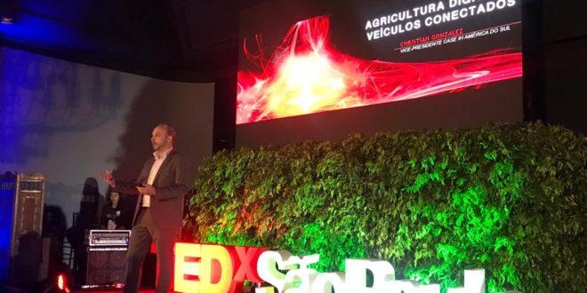 Case IH leva tendências para o futuro do agronegócio ao palco do TEDx São Paulo